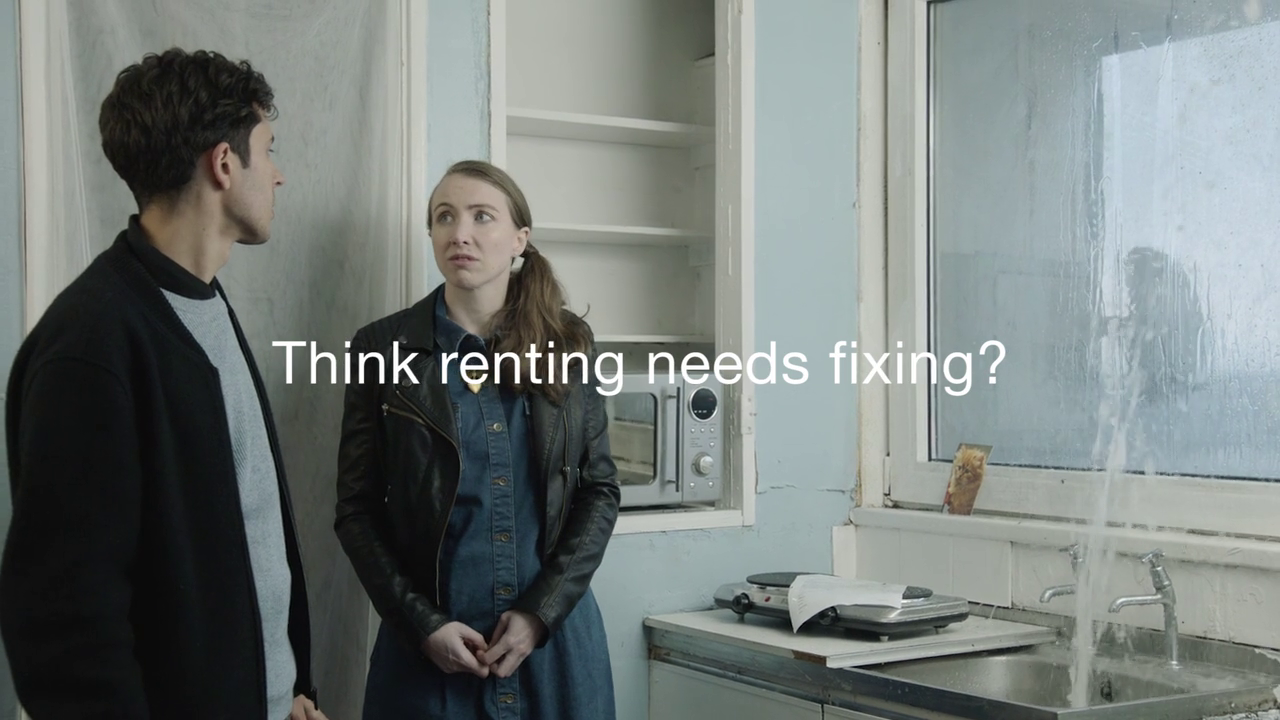 Shelter UK - 'Fix Renting Campaign'
